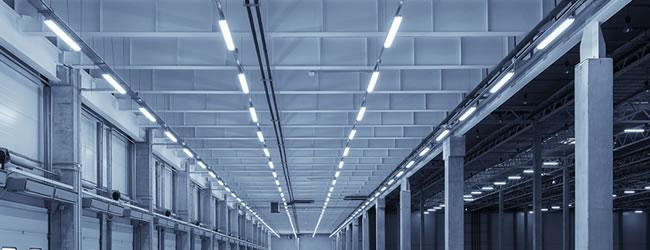 Installatie industriële LED verlichting: soorten, renovatie ...
